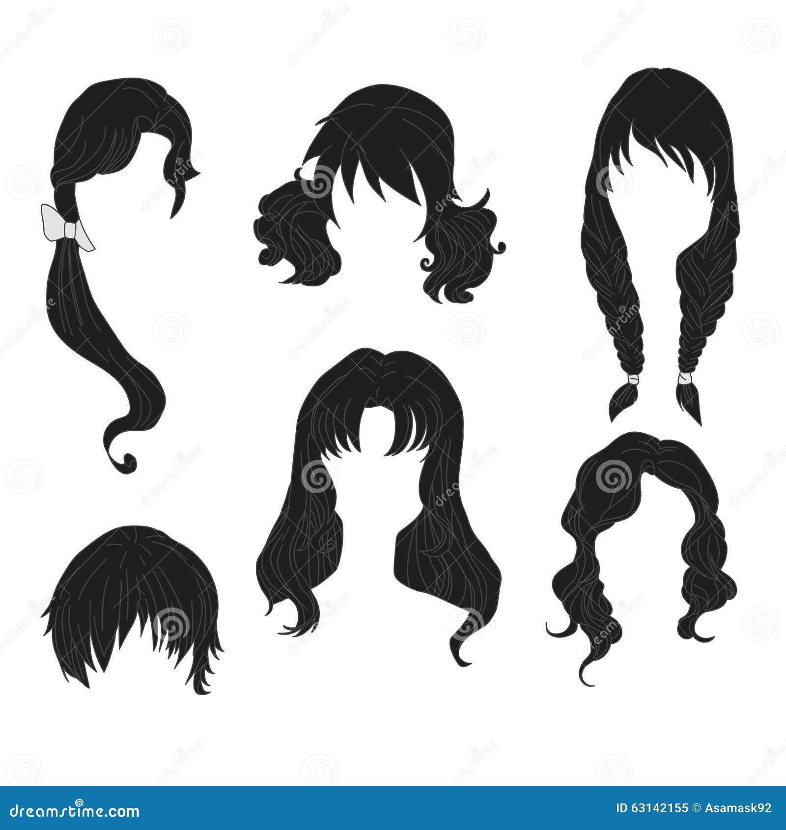 Dessin Fille Cheveux Court Ecosia