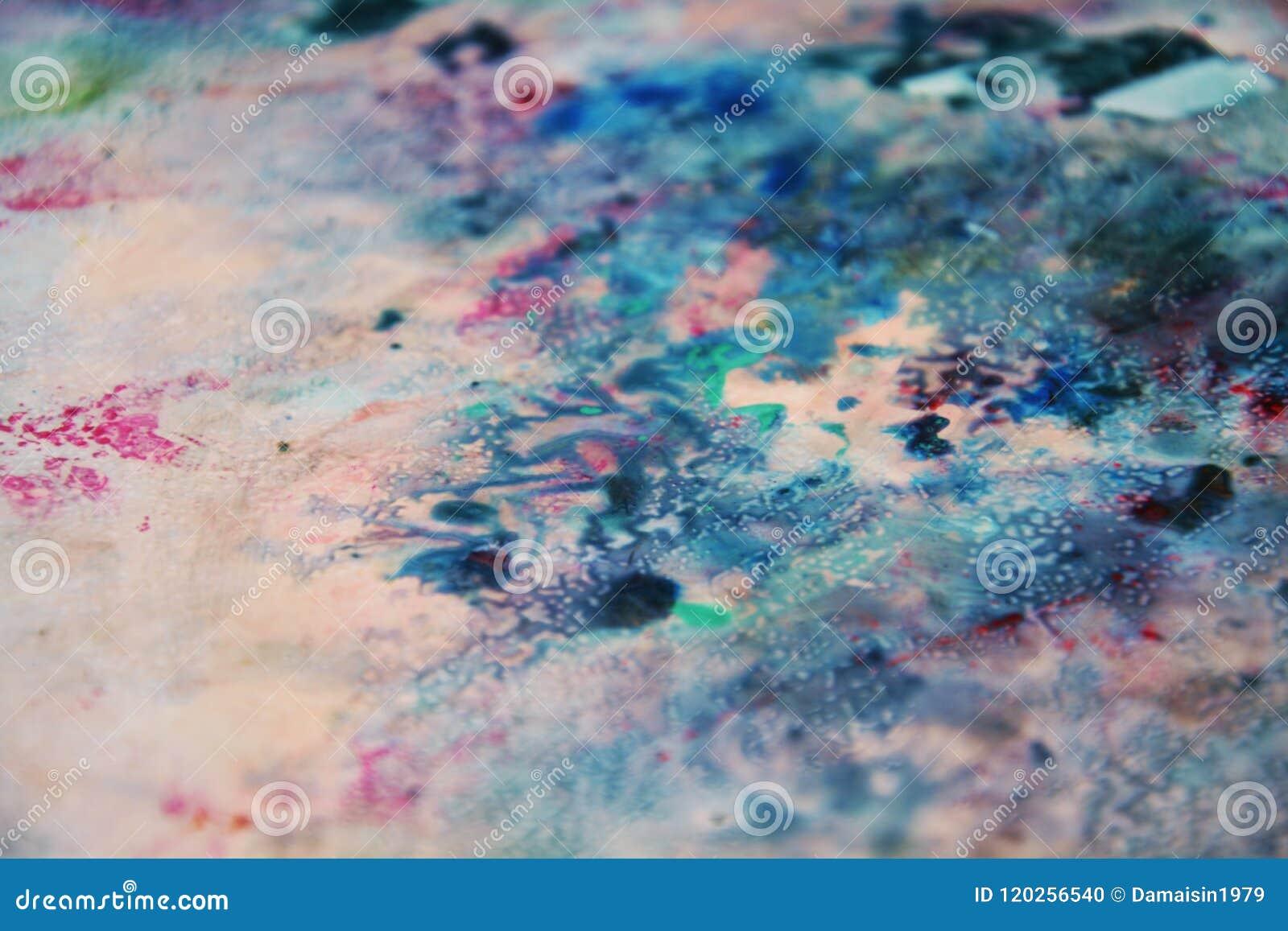 Les Couleurs Douces De Mélange De Noir De Rose De Gris Bleu