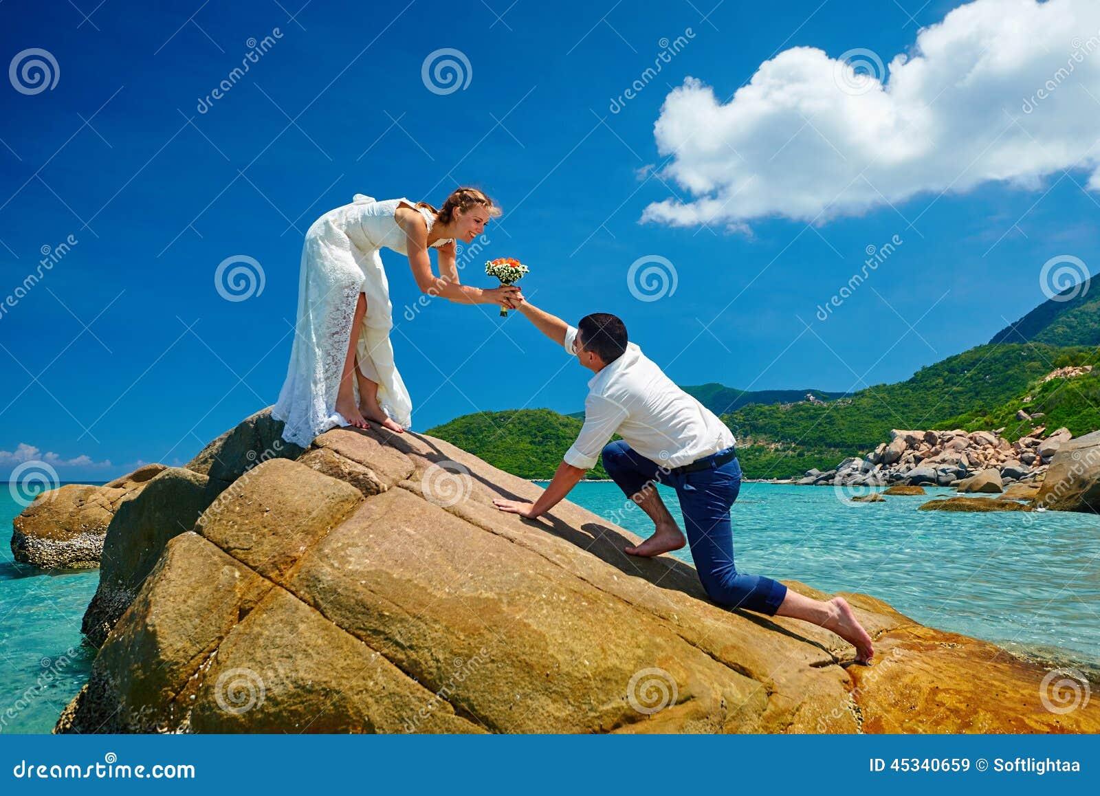 La robe de mariage Proposition