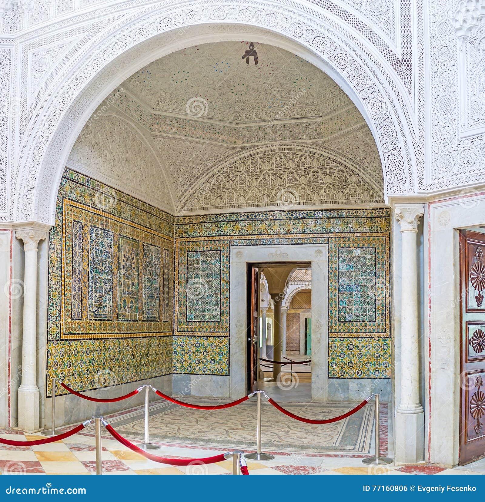 Les décors riches du palais de Hafsid