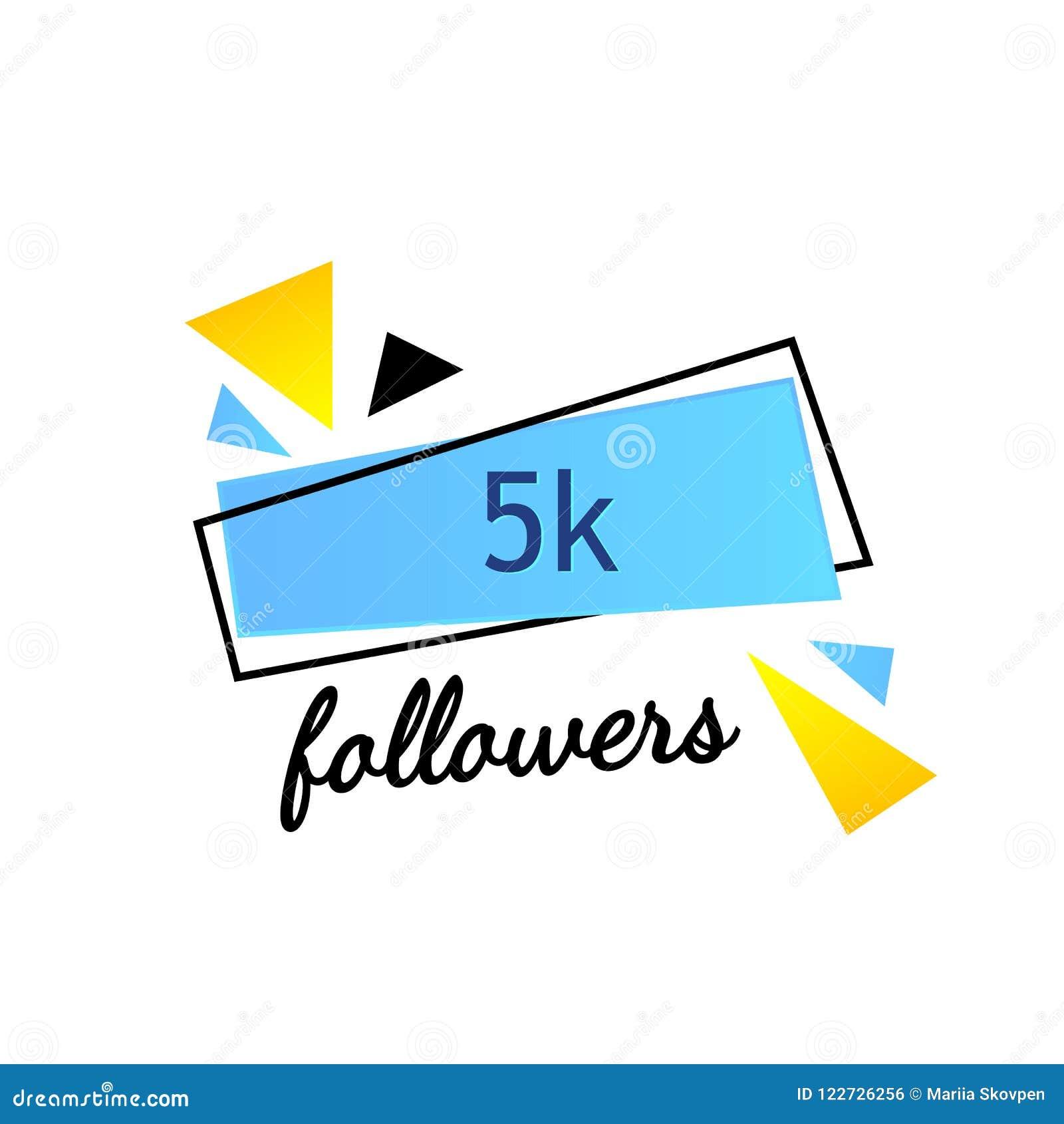 Les disciples 5K vous remercient d exprimer sur le fond lumineux avec les articles aléatoires Calibre pour le media social courri