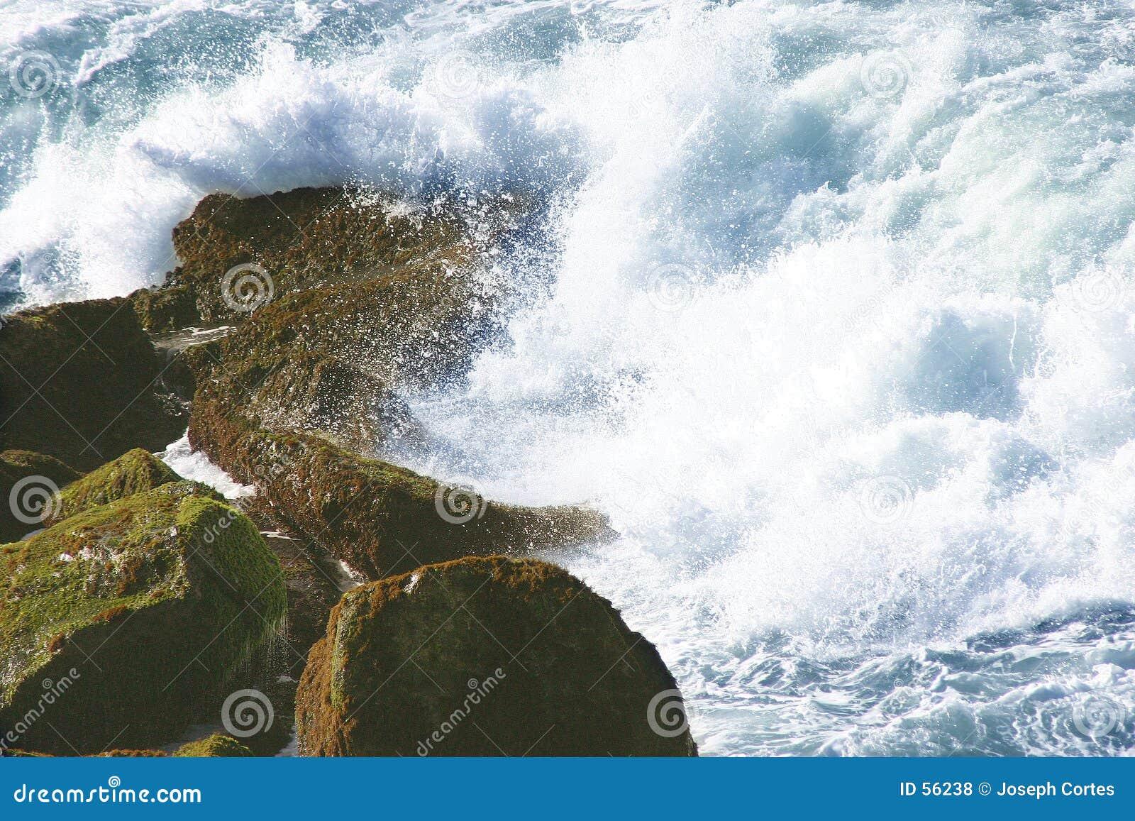 Download Les eaux sensationnelles photo stock. Image du humide, force - 56238