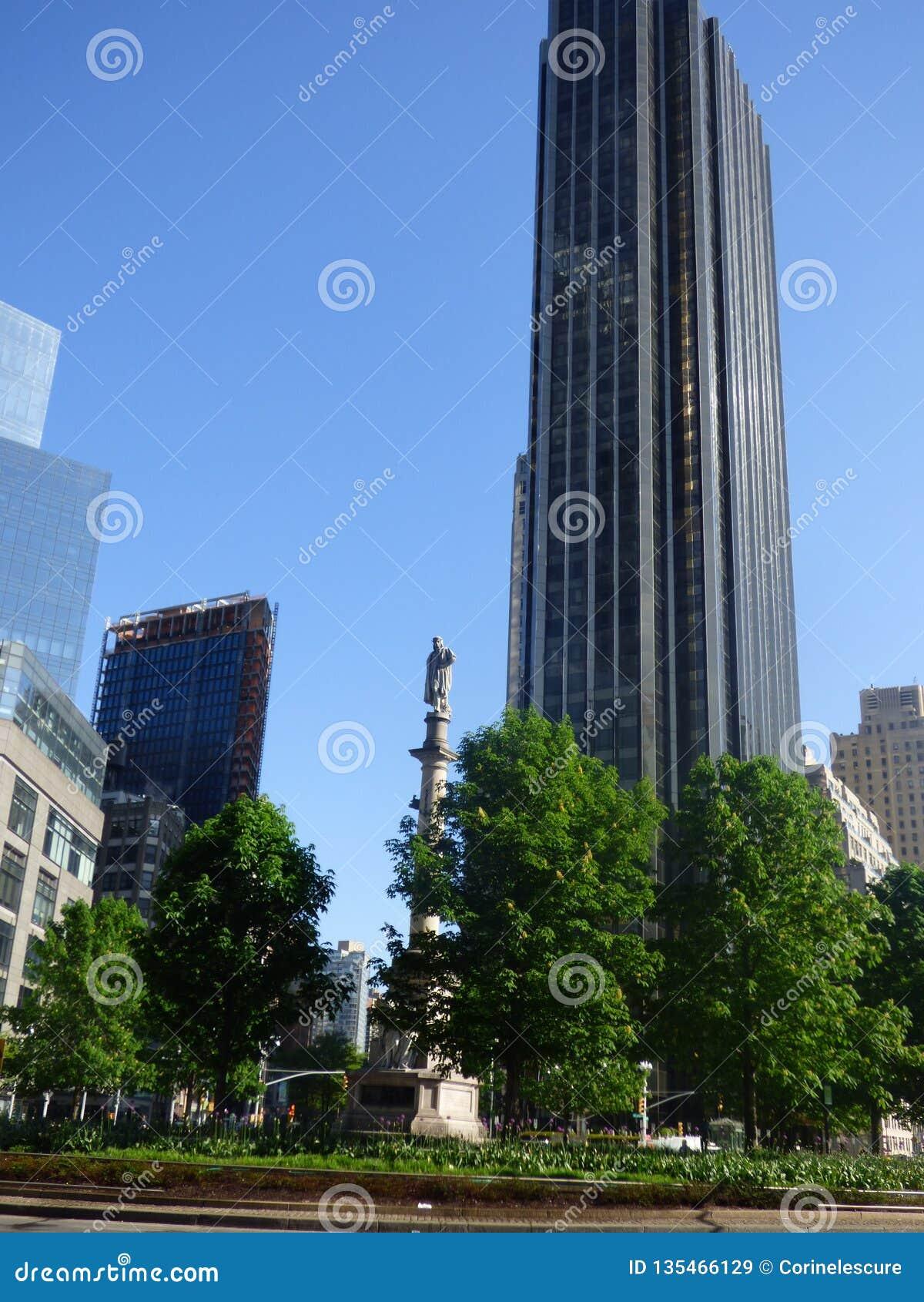 LES Etats-Unis New York Columbus Circle