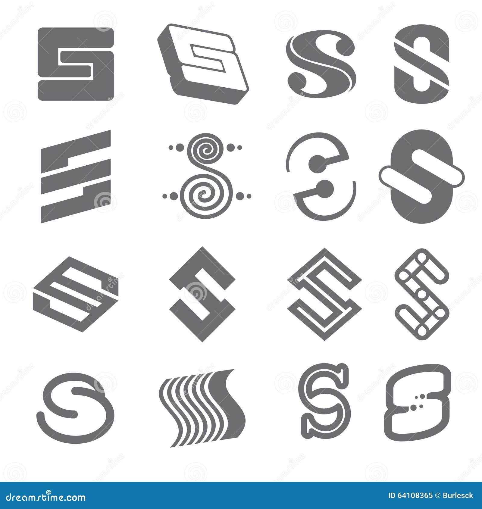 Extrêmement Les Formes Géométriques Pour S Marquent Avec Des Lettres Le Logo  BD15