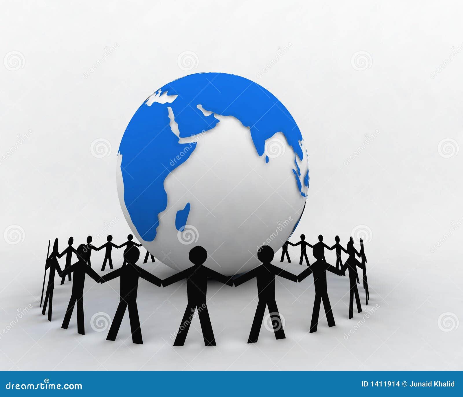 Les gens autour du globe 004