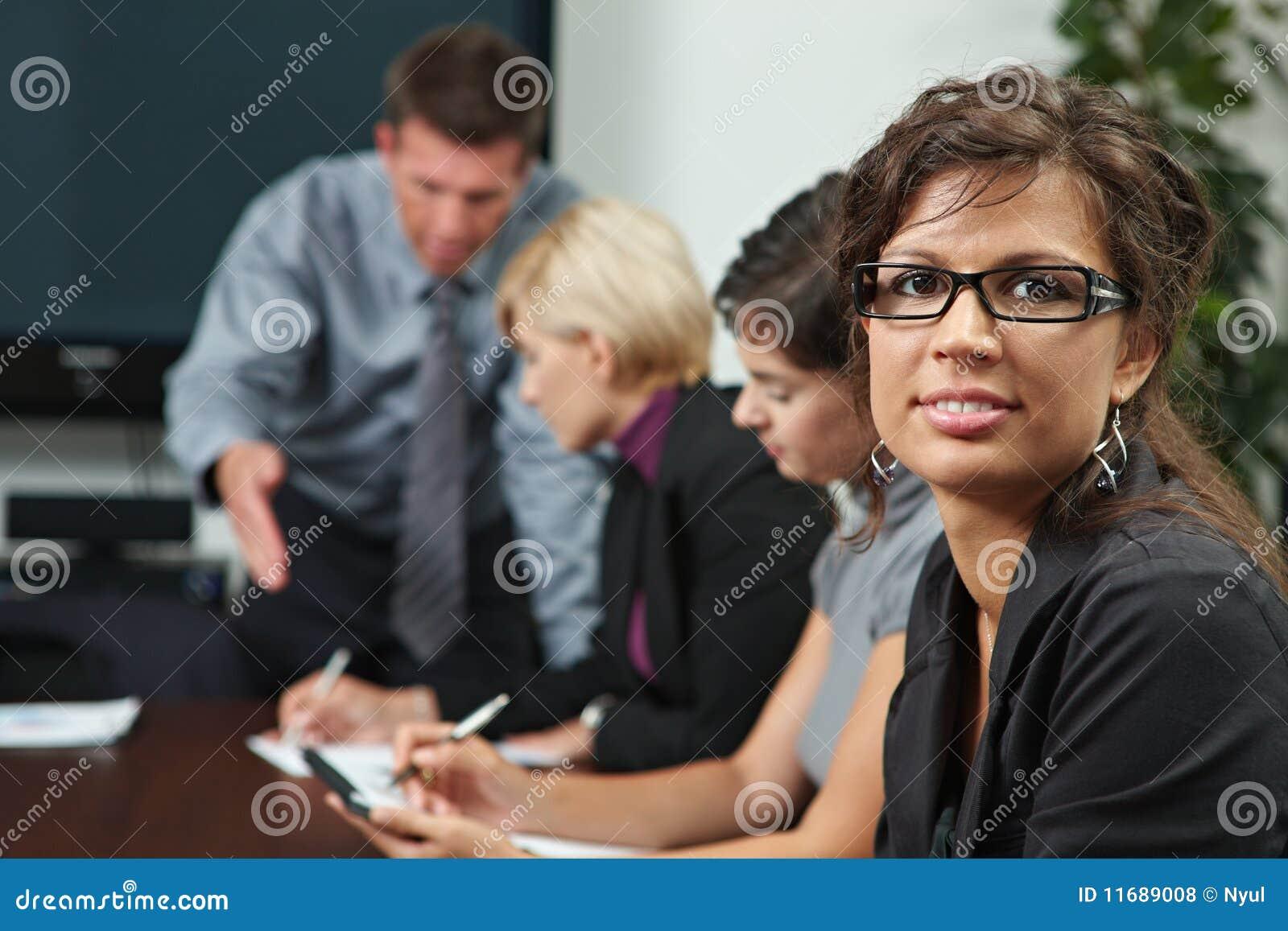 Les gens sur la formation d affaires