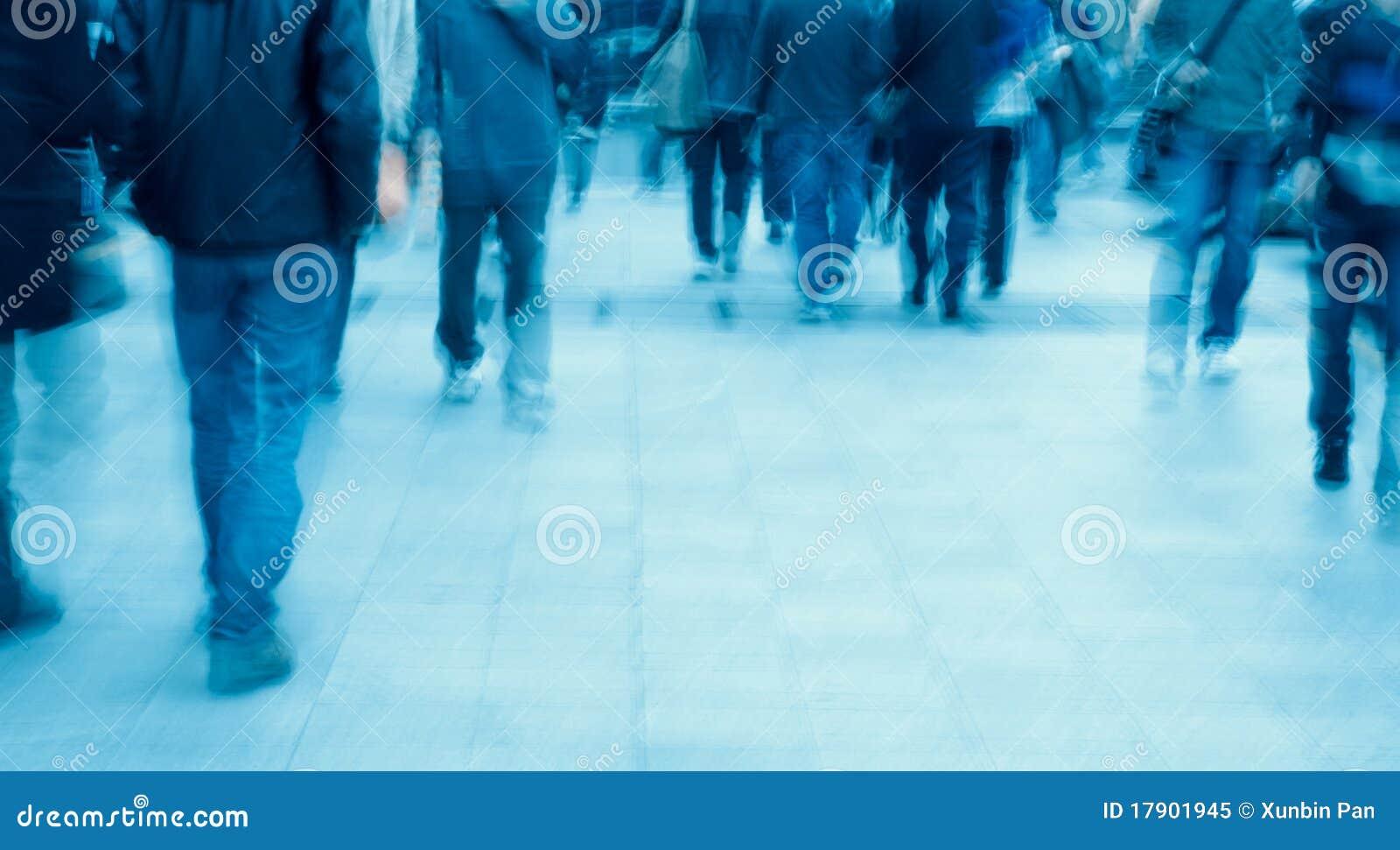 Les gens sur la rue