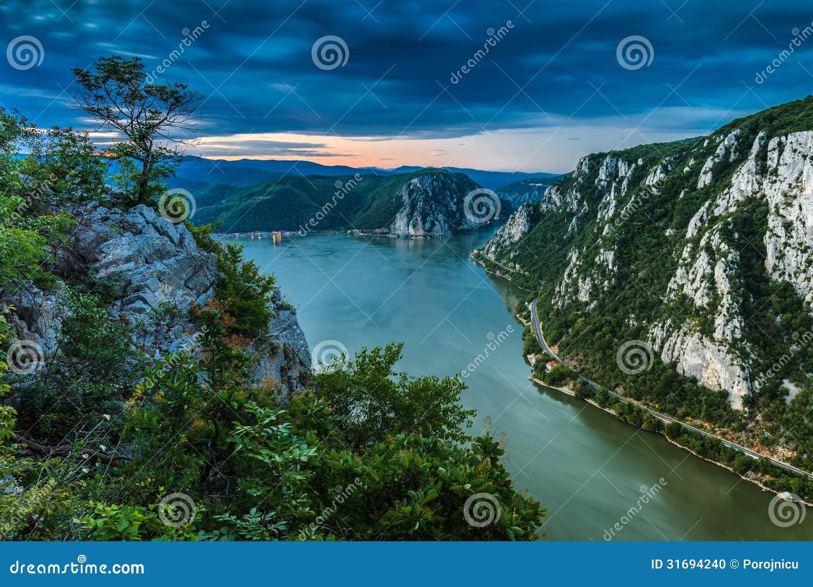 Les gorges de Danube