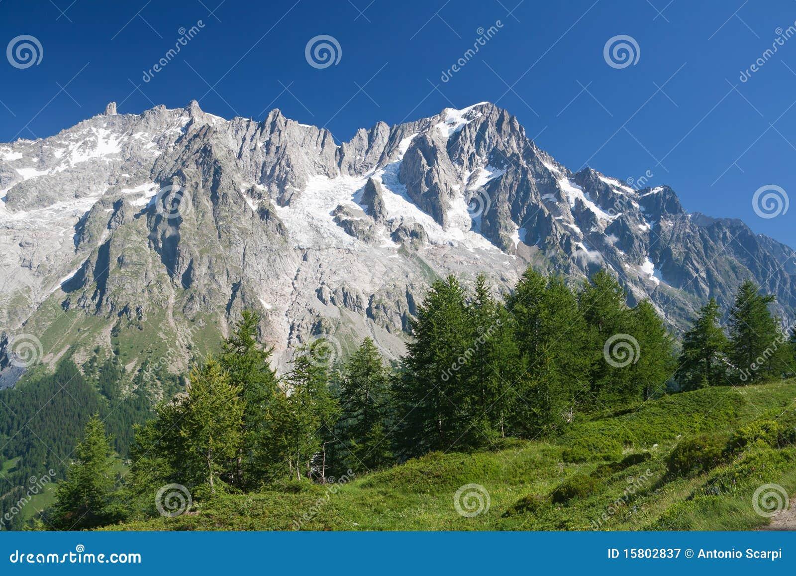 Les Grandes Jorasses - Mont Blanc