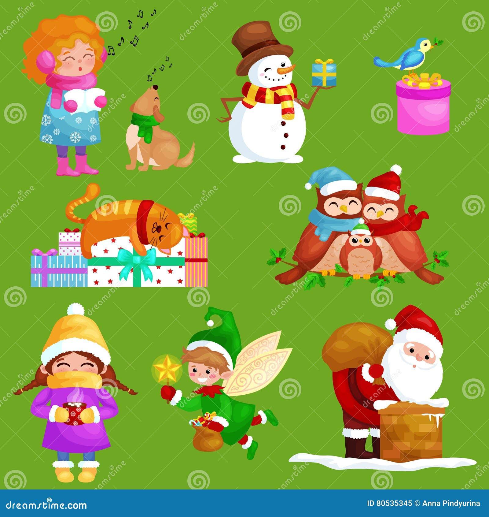 Chanson Un Joyeux Noel.Les Illustrations Reglees Bonne Annee De Joyeux Noel Fille