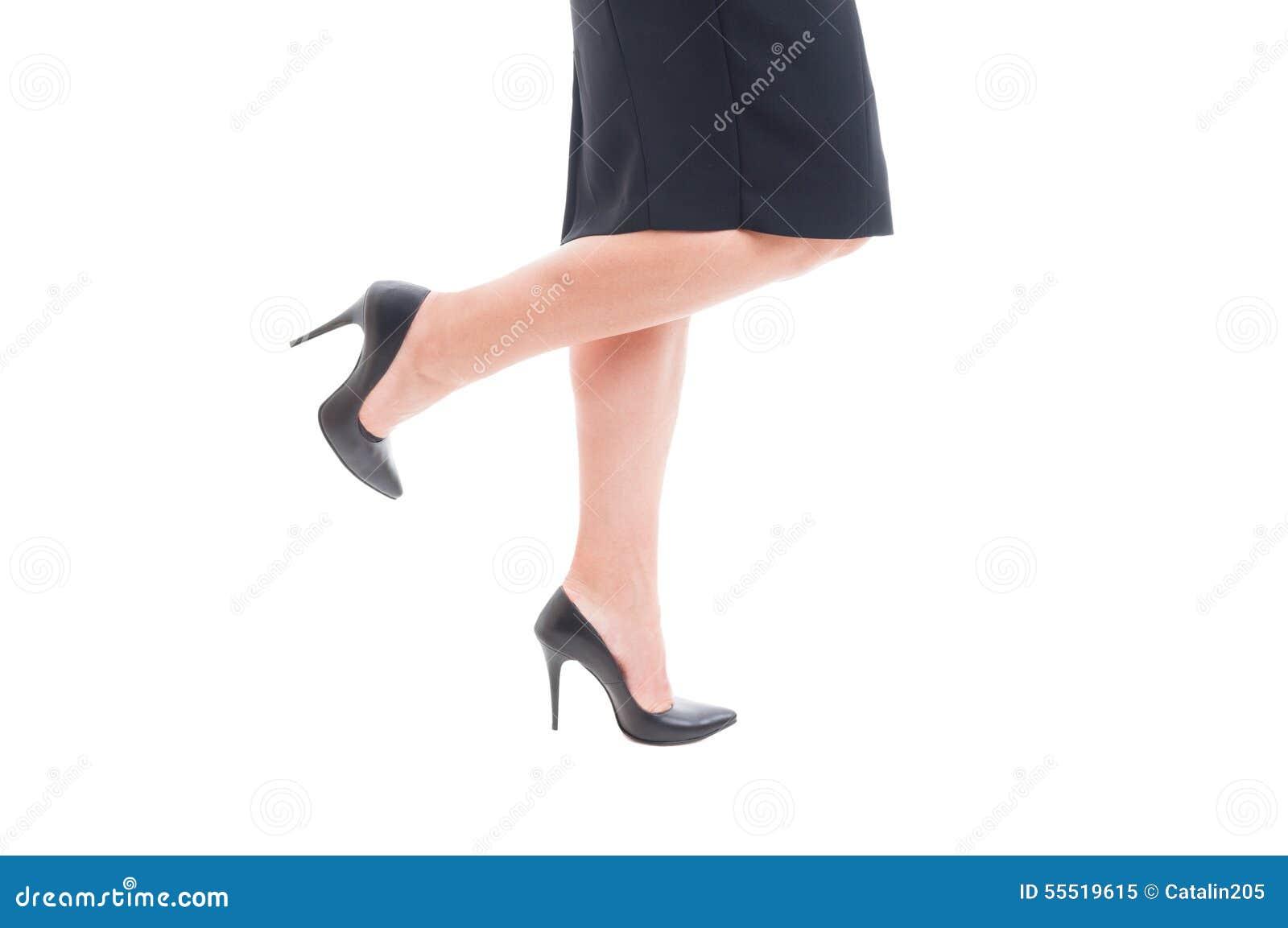 Les De Des Jambes Noircissent Avec Talons Hauts Femme D'affaires rnrgx5a1F