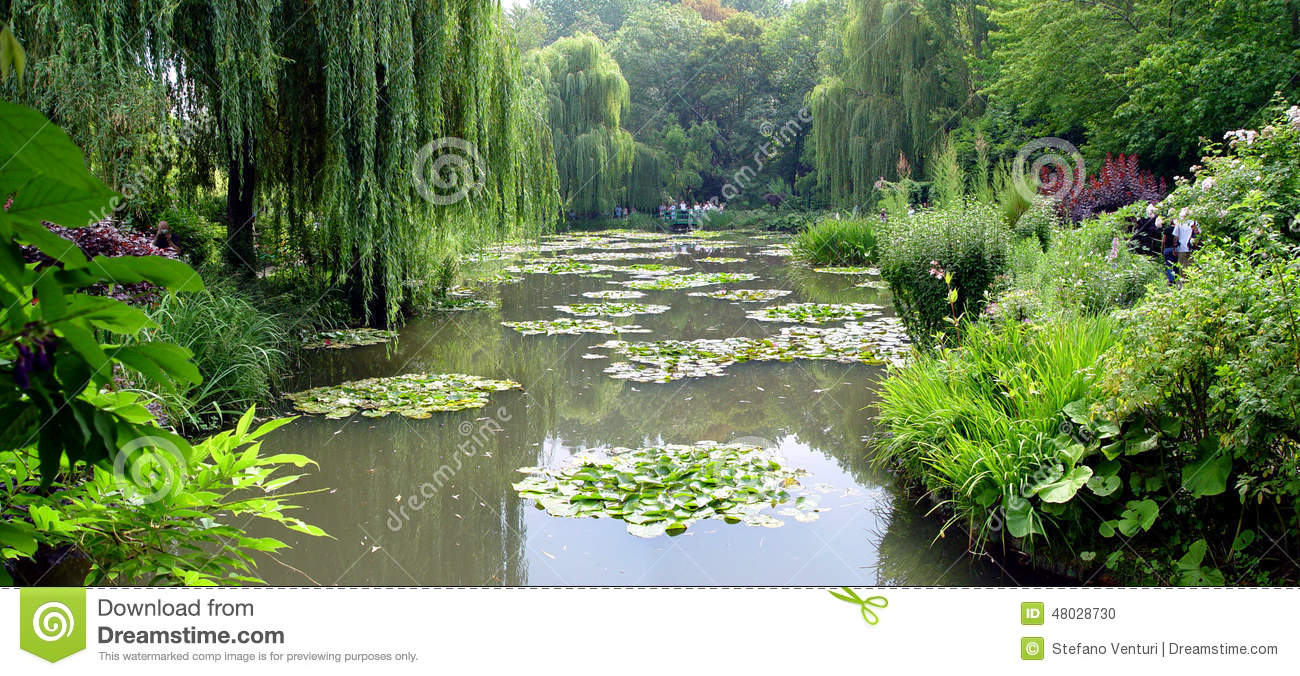 Les jardins de claude monet dans giverny france photo for Les jardins en france