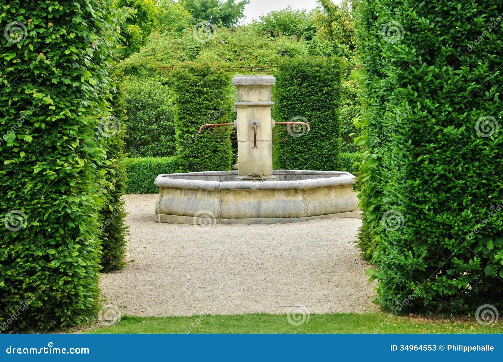Les jardins du pays d auge in cambremer in normandie stock for Les jardins en france