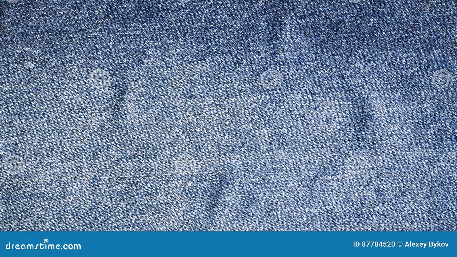 Les jeans donnent une consistance rugueuse, tissu