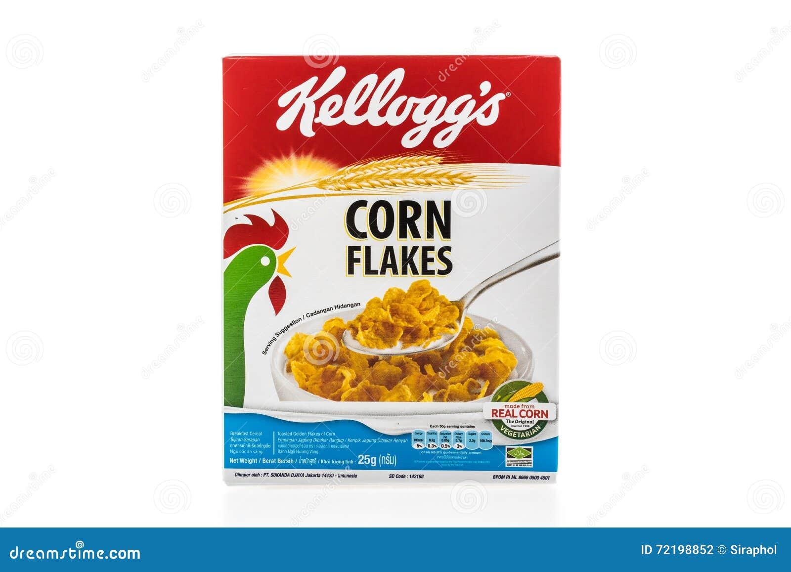 Boite A Cereale : les kelloggs de marque de bo te c r ale est photographie ditorial image du isolement cadre ~ Teatrodelosmanantiales.com Idées de Décoration