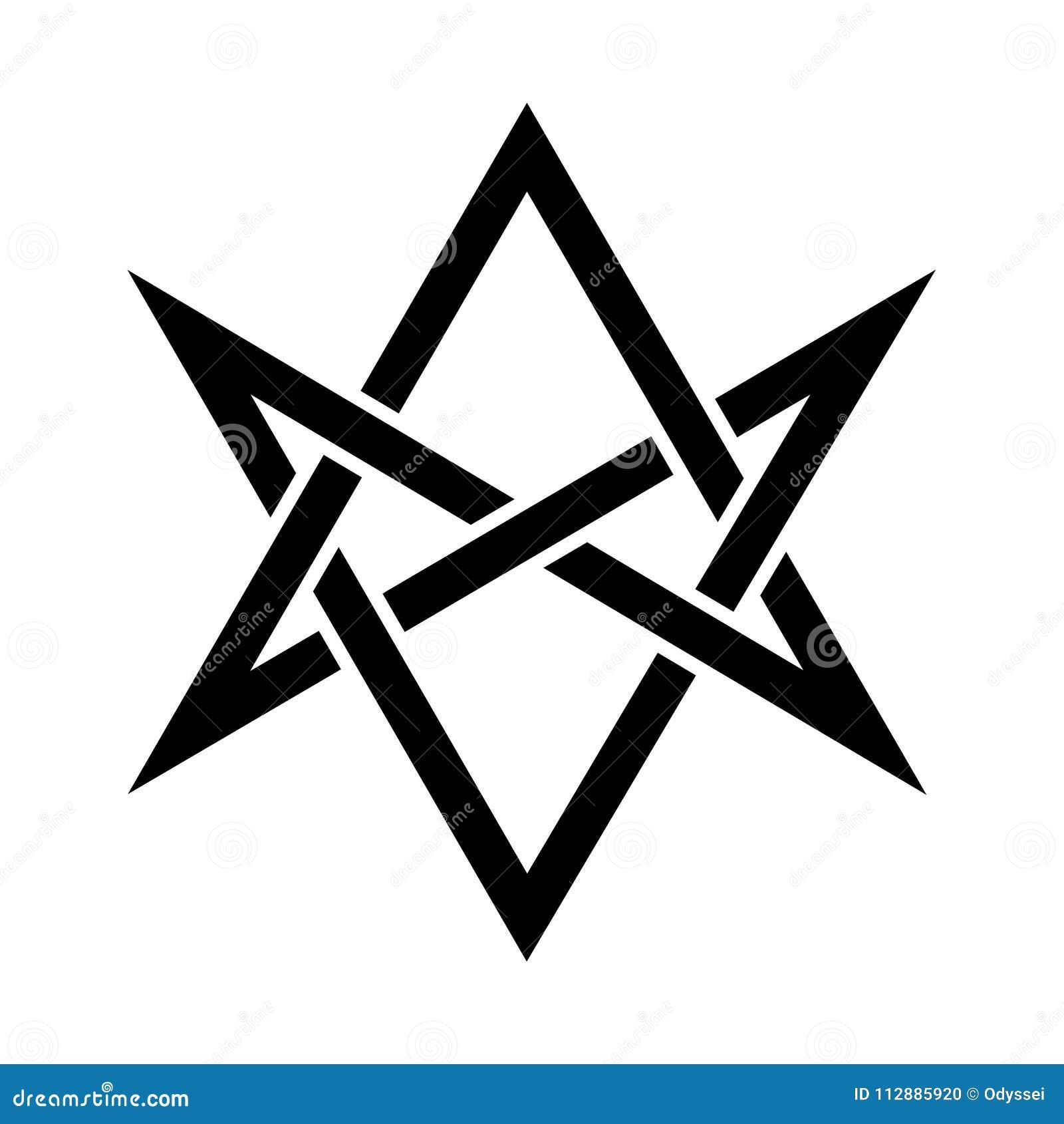Les klaxons du hexagram unicursale mystique d Asmodeus