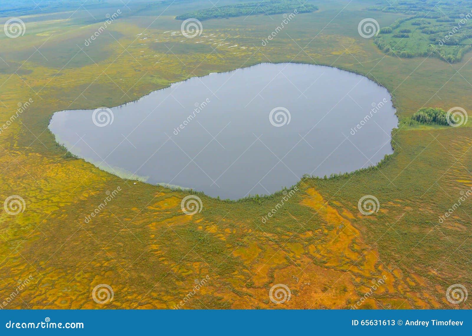 Les lacs et les marais de la Sibérie occidentale