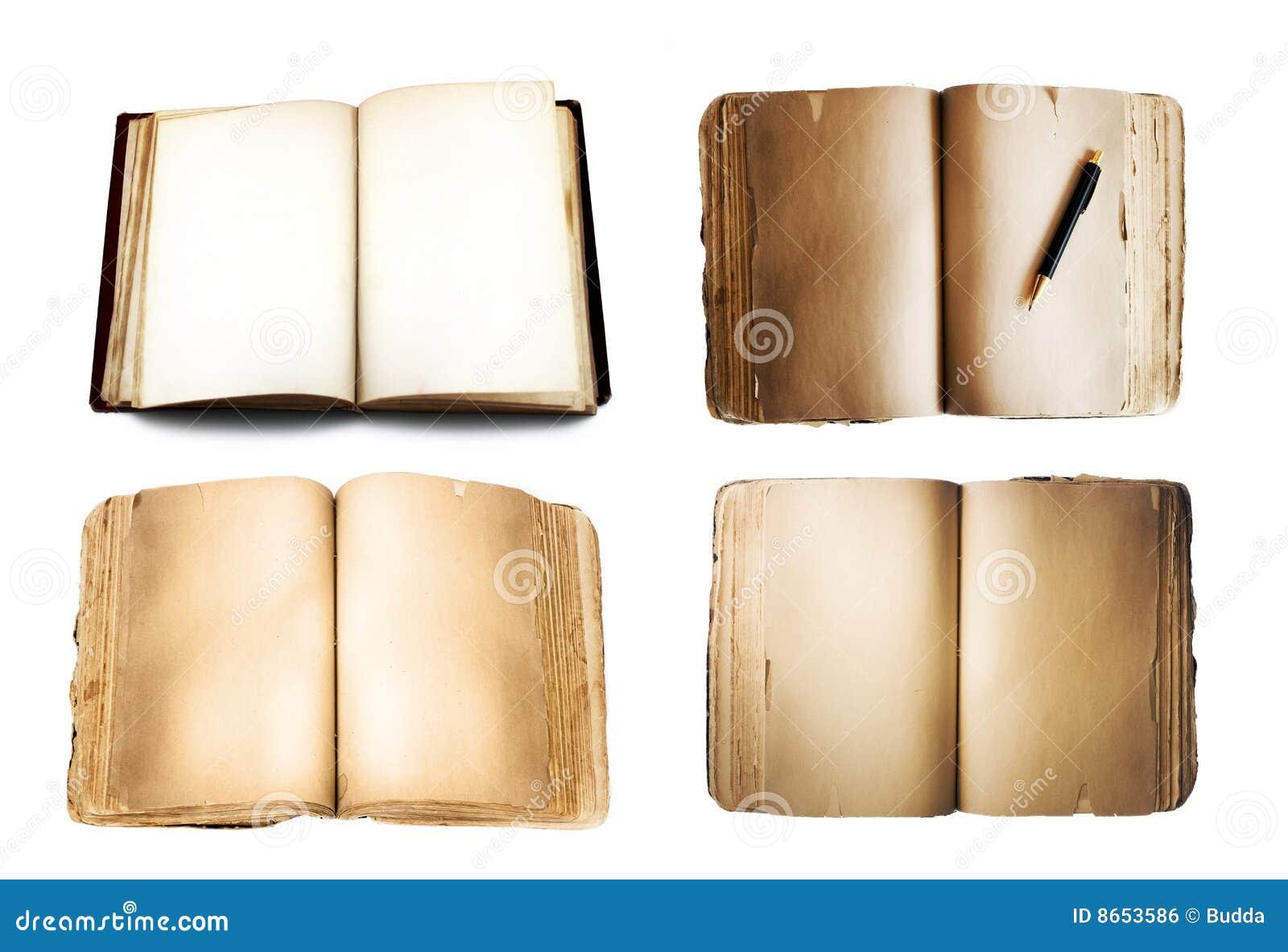 Les livres ont isolé le blanc