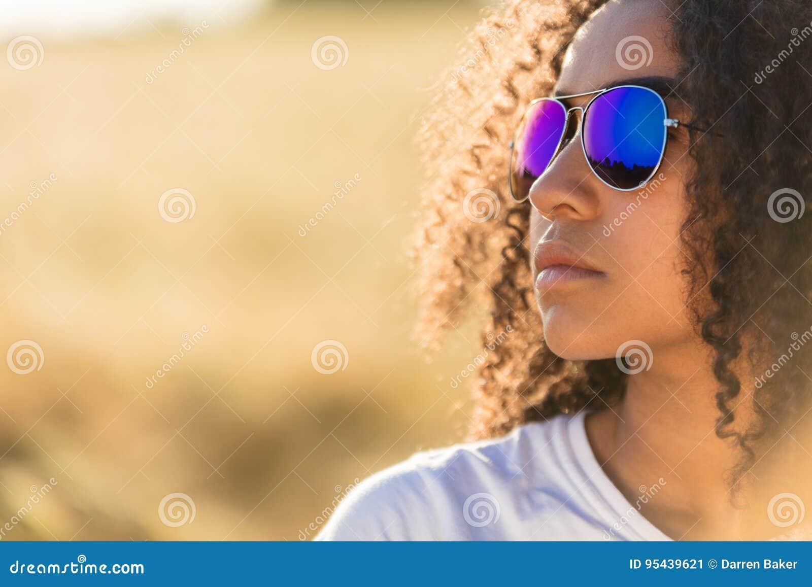5 Lunettes De Soleil De Soleil D Enfant De Fille D Afro