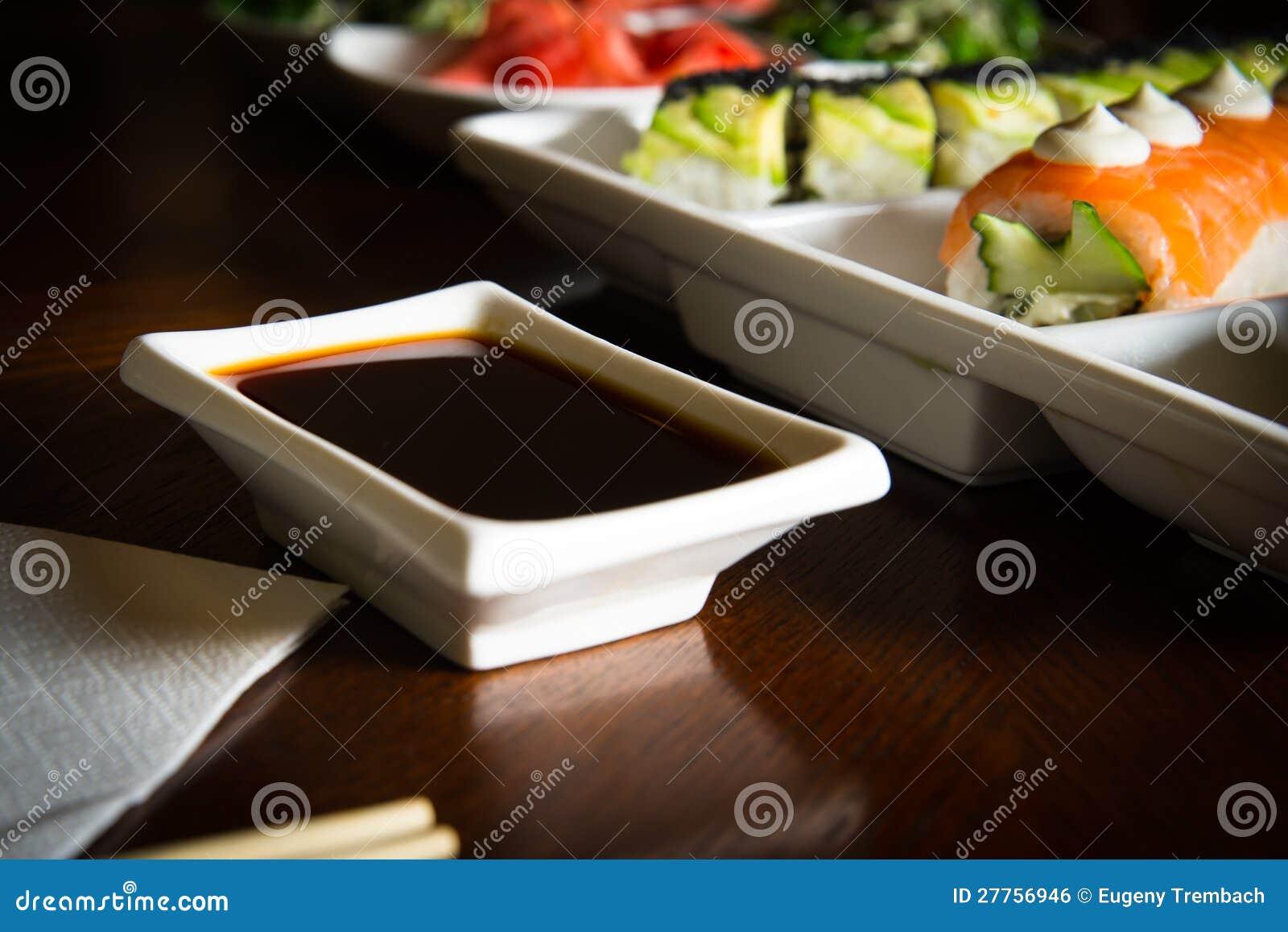 Les maki&rolls de sushi ajournent la configuration