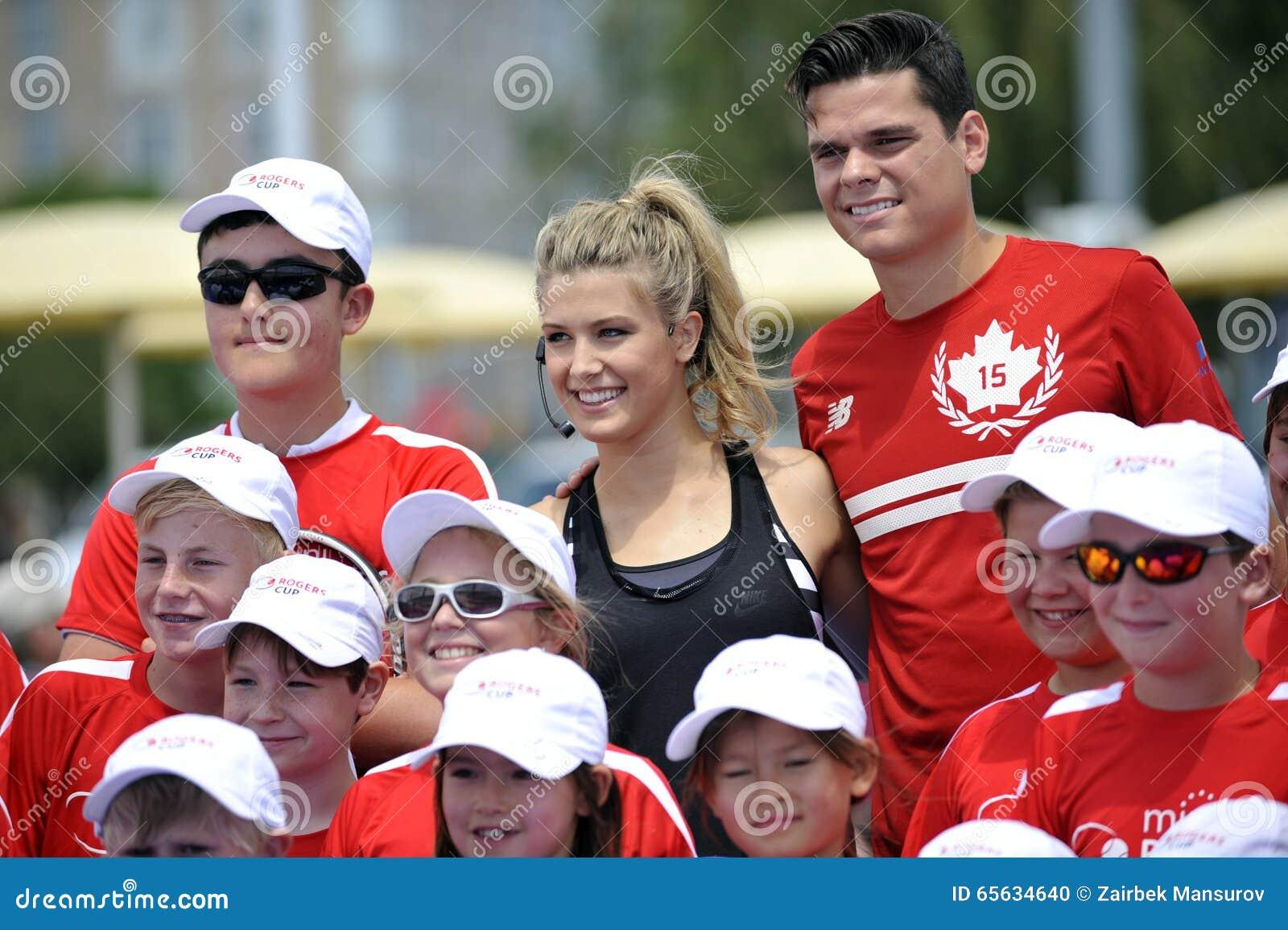 Les Milos et le Bouchard Genie de Raonic PEUVENT chez Rogers Cup (6)