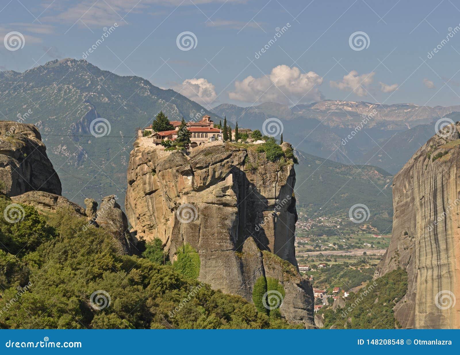 Les monast?res de Meteora, Gr?ce Kalambaka Site de patrimoine mondial de l UNESCO