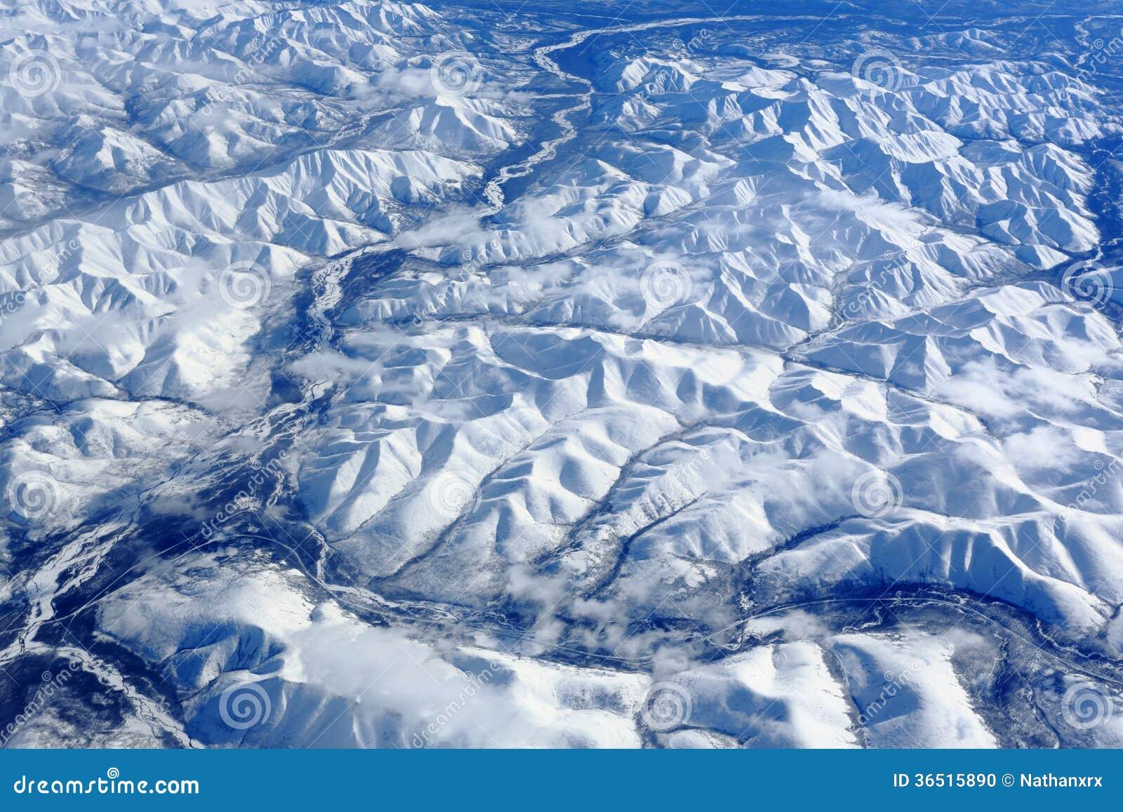 Les montagnes de la Sibérie