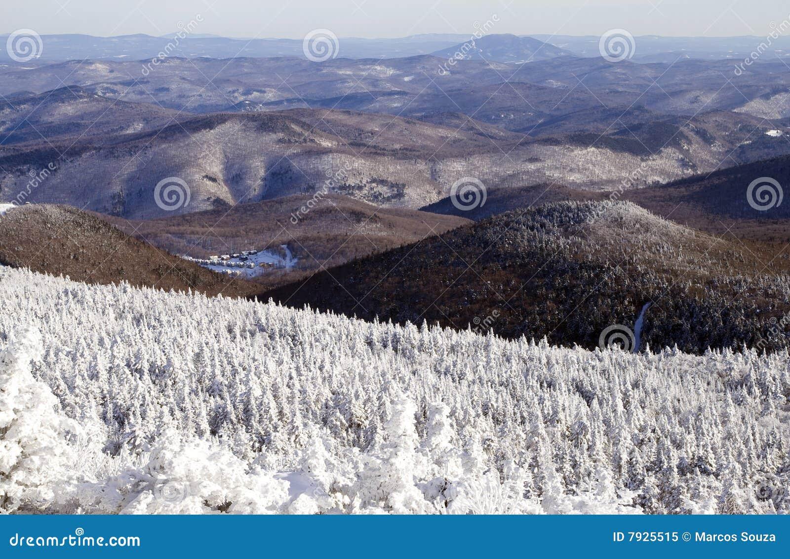Les montagnes du Vermontn