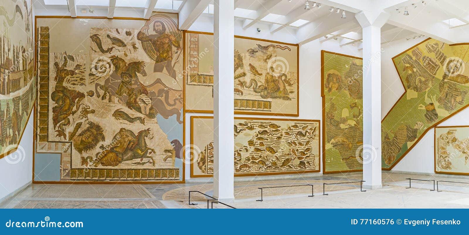 Les mosaïques préservées dans le musée