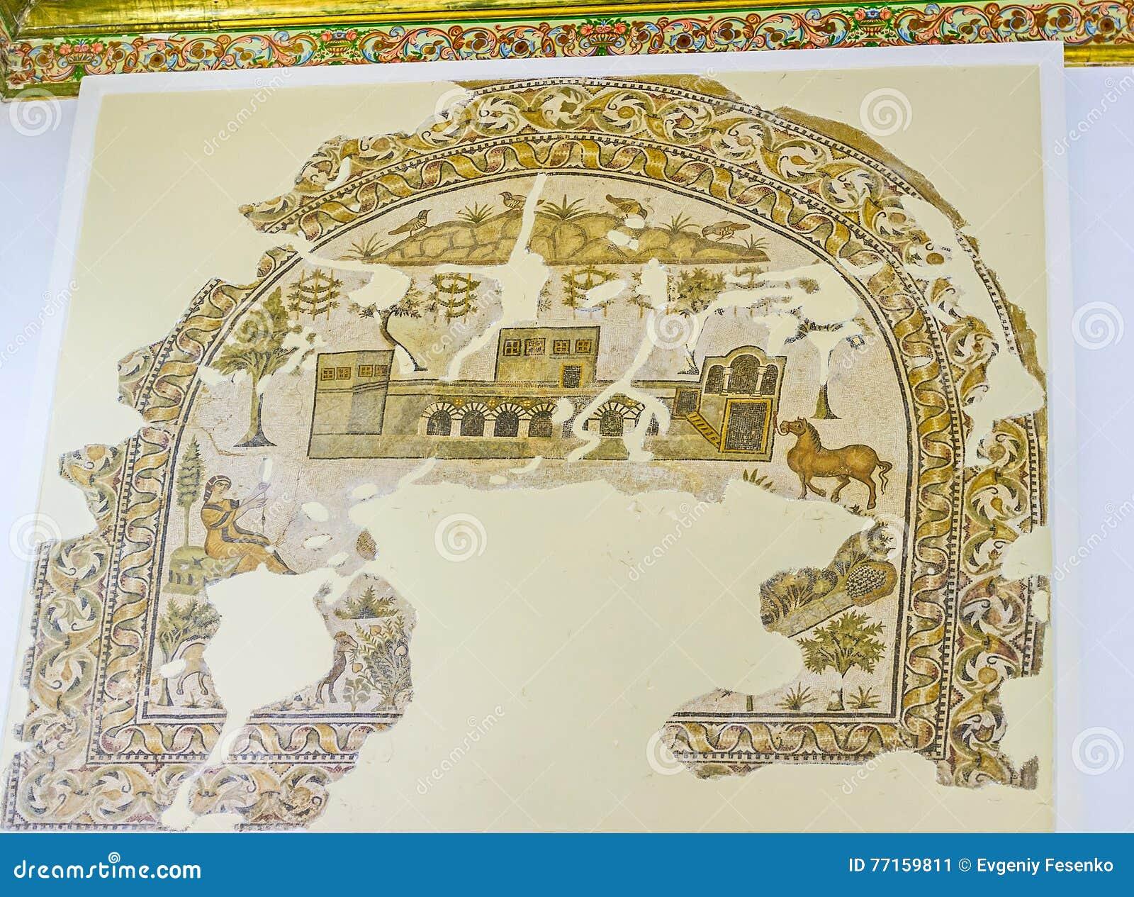 Les mosaïques reconstituées