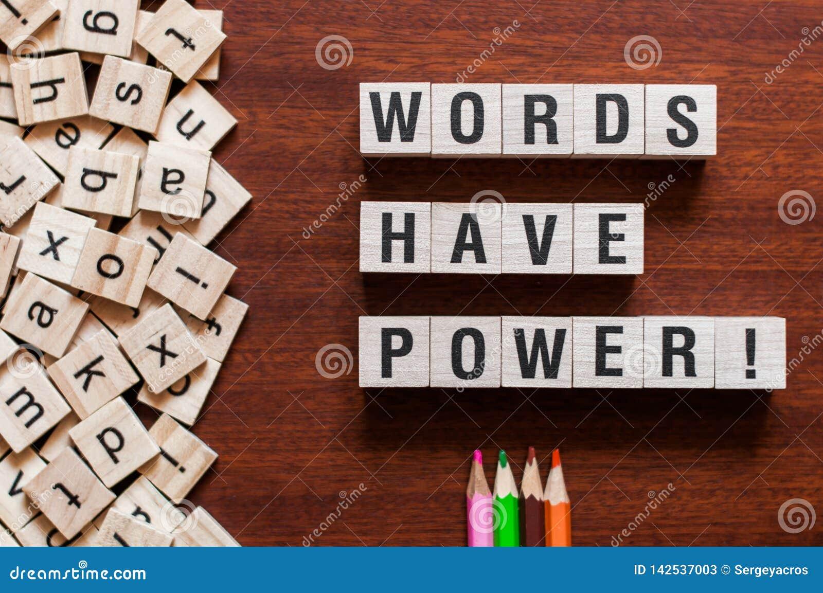 Les mots ont pour actionner le concept de mot