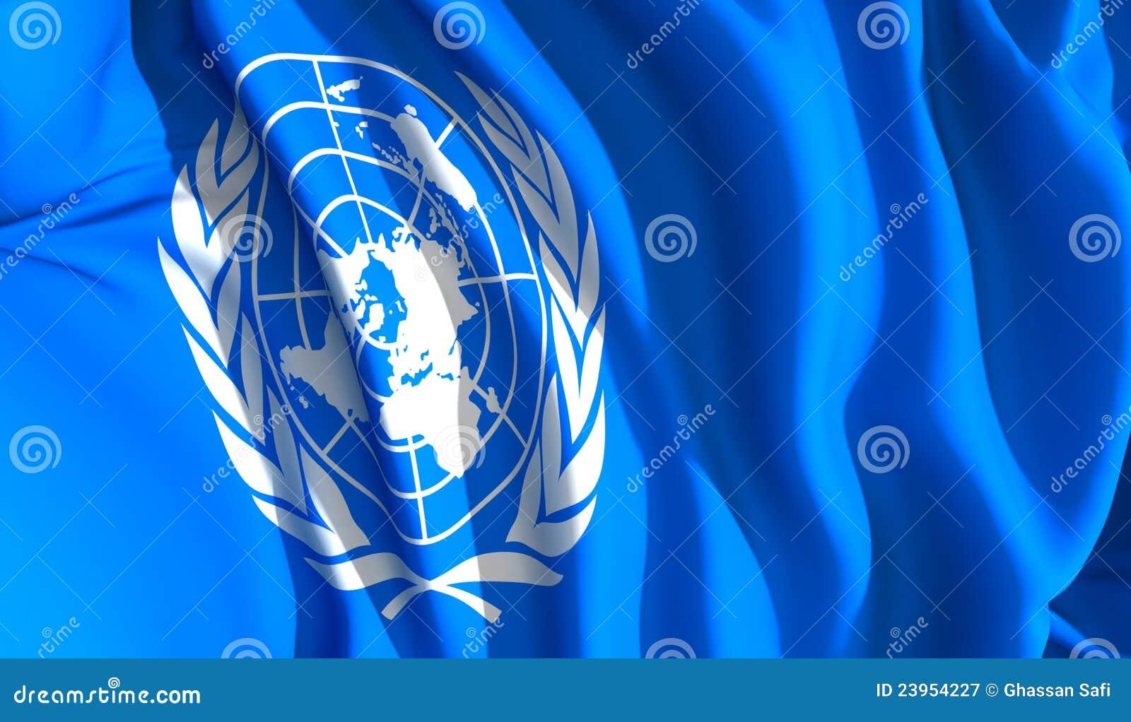 Les Nations Unies de ondulation