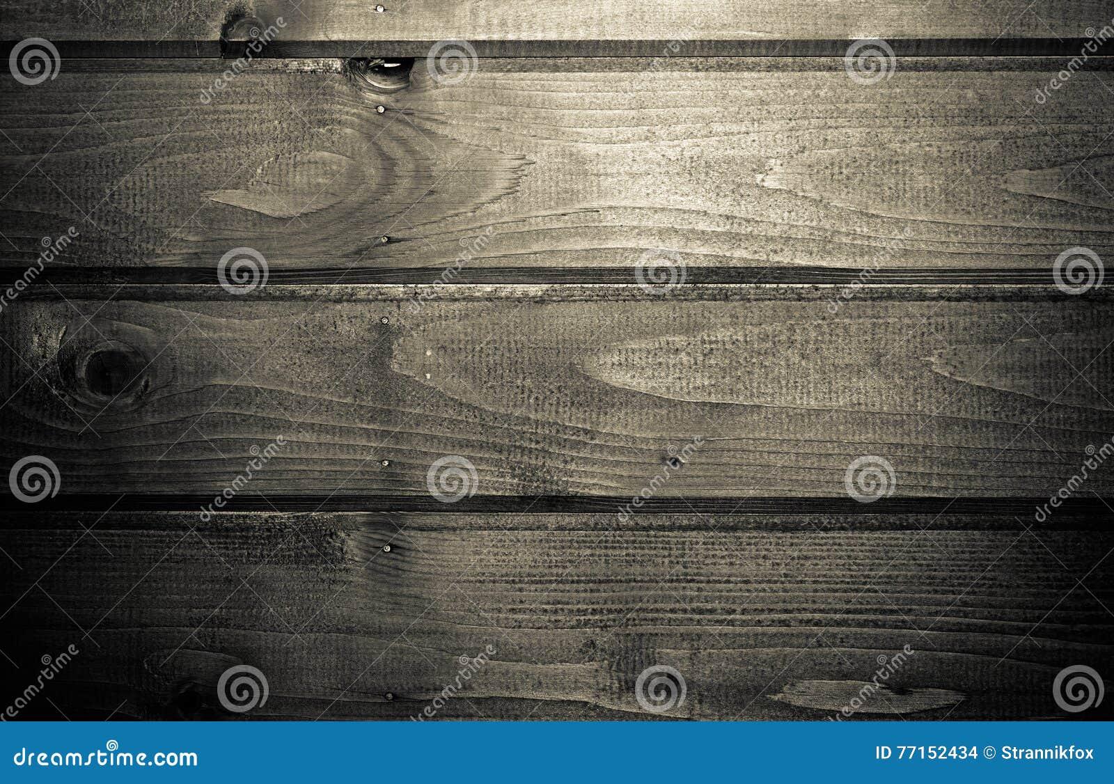 Les nouvelles planches en bois avec la peinture aiment le fond toned