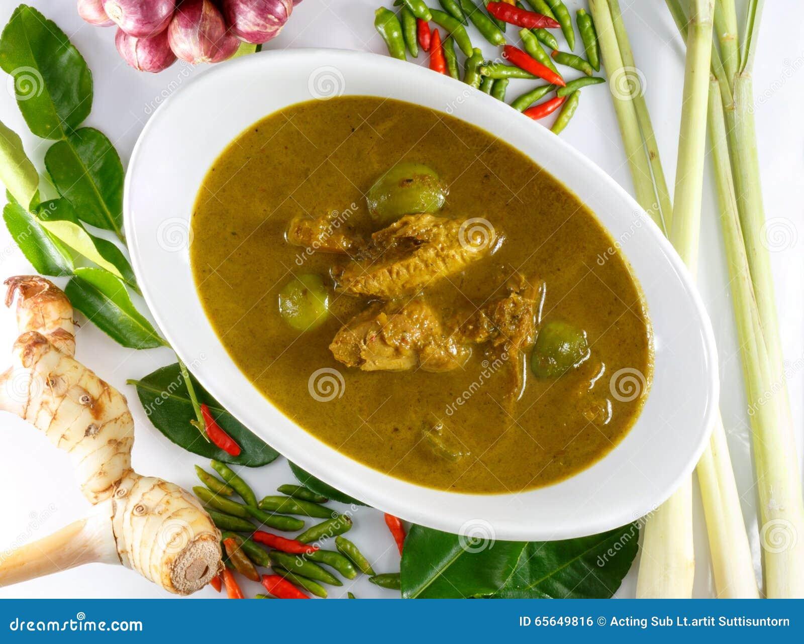 Les organes de poissons acidifient la soupe, nourriture thaïlandaise