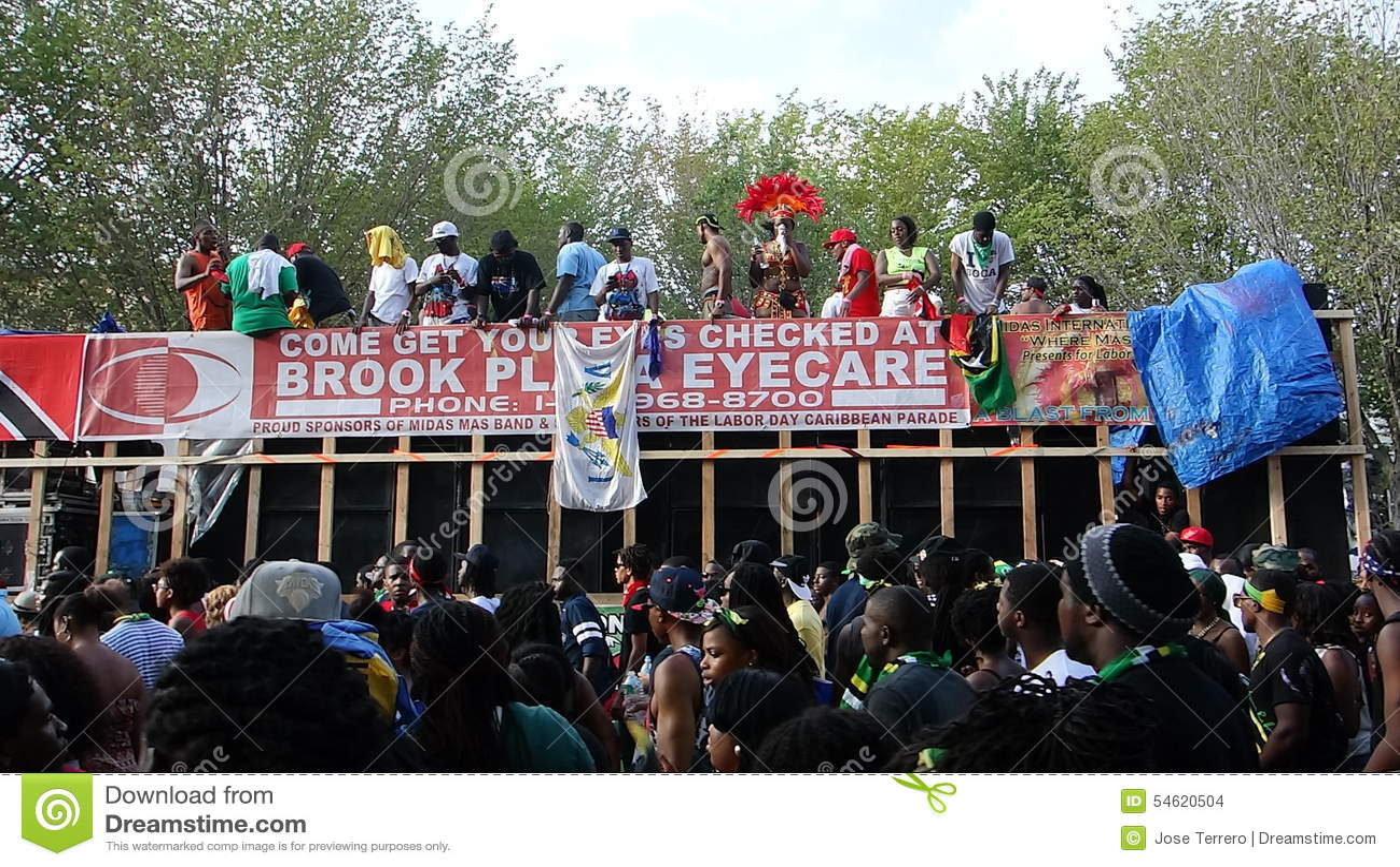 Les 2014 parties indiennes occidentales 50 de défilé de jour
