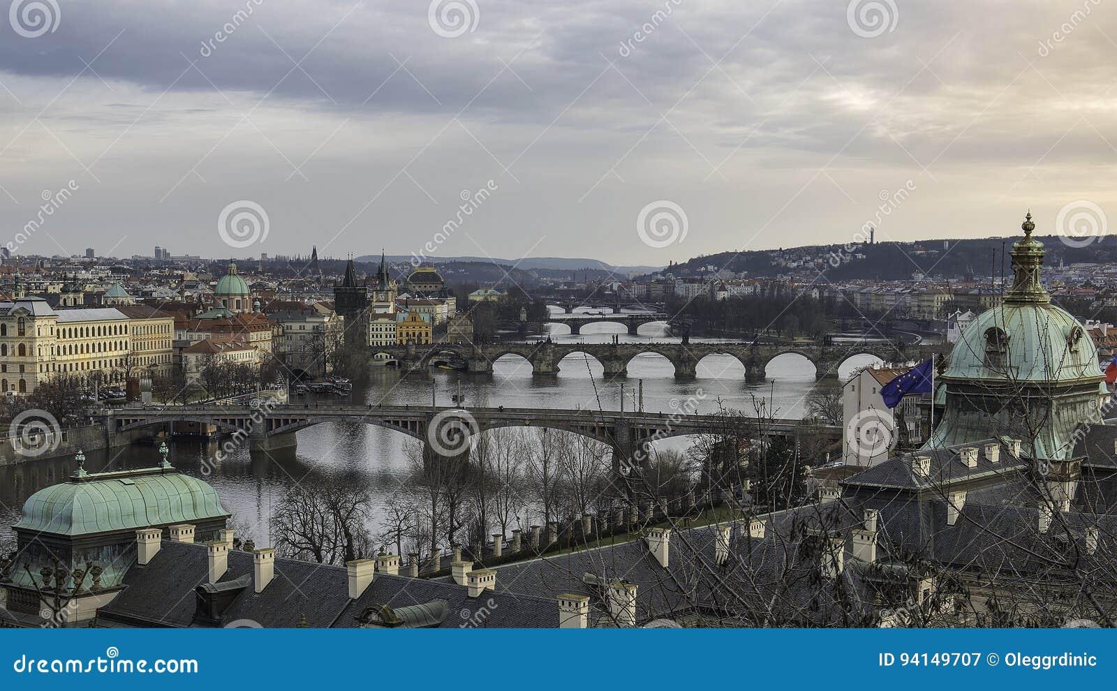 Les passerelles de Prague