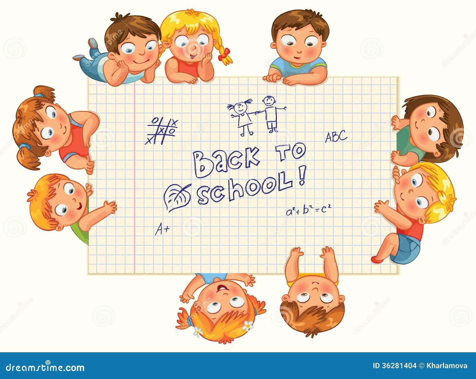 les petits enfants mignons montrent un livre d 39 exercice vide images stock image 36281404. Black Bedroom Furniture Sets. Home Design Ideas