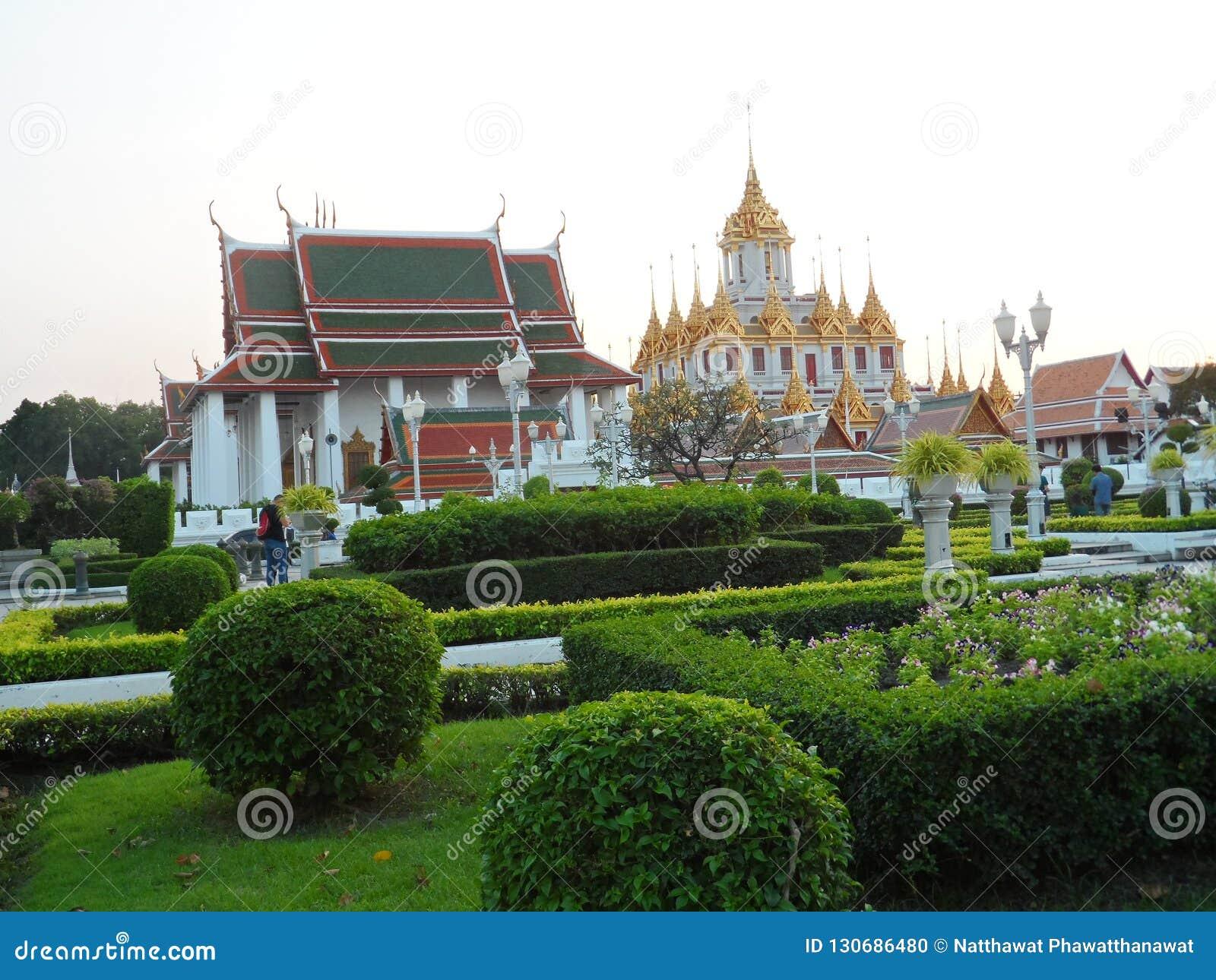 Les photos de parc de jardin à Bangkok, Thaïlande là sont beaucoup d endroits intéressants thaïlandais et touristes étrangers Ven