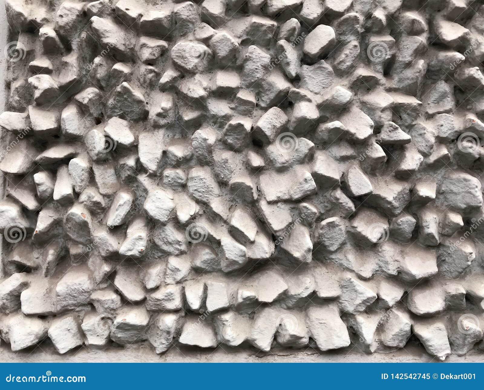 Les pierres donnent une consistance rugueuse et fond Oscillez la texture