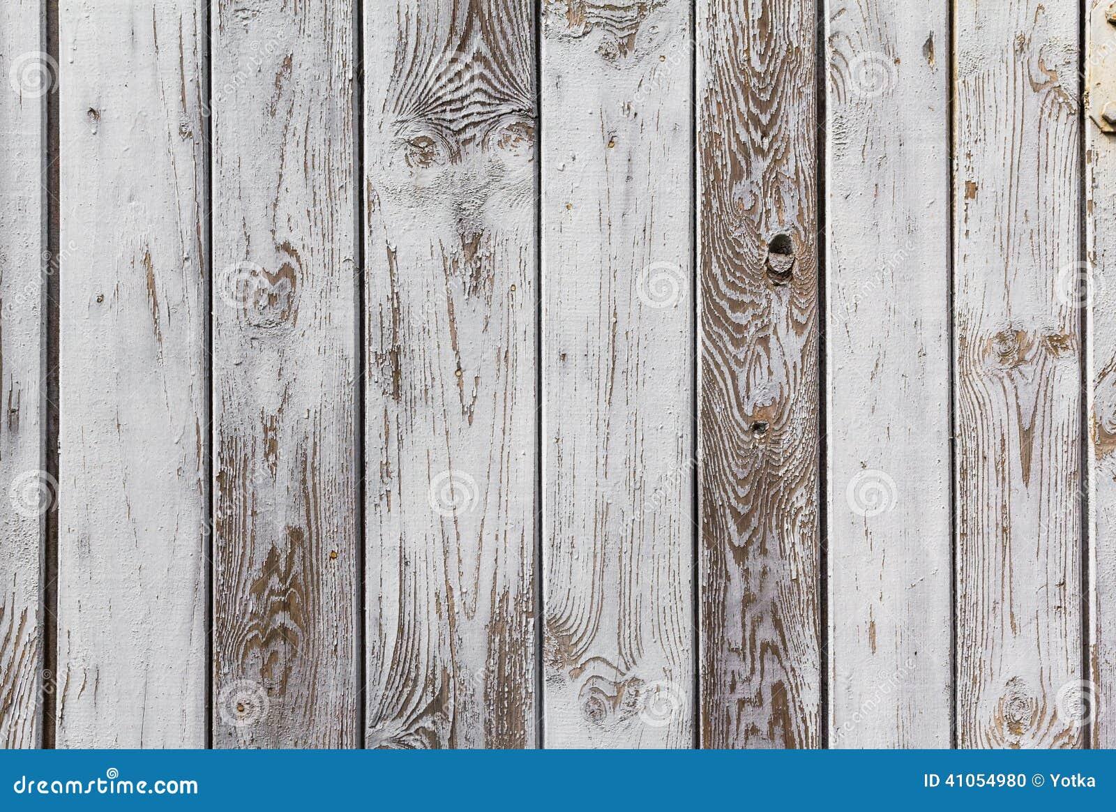 Les planches en bois de mur ont peint le blanc gris photo stock image 4105 - Mur en planche de bois ...
