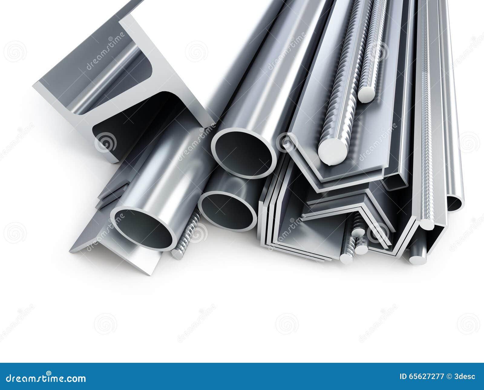 Les produits métalliques roulés, métal siffle, des angles, canaux, places