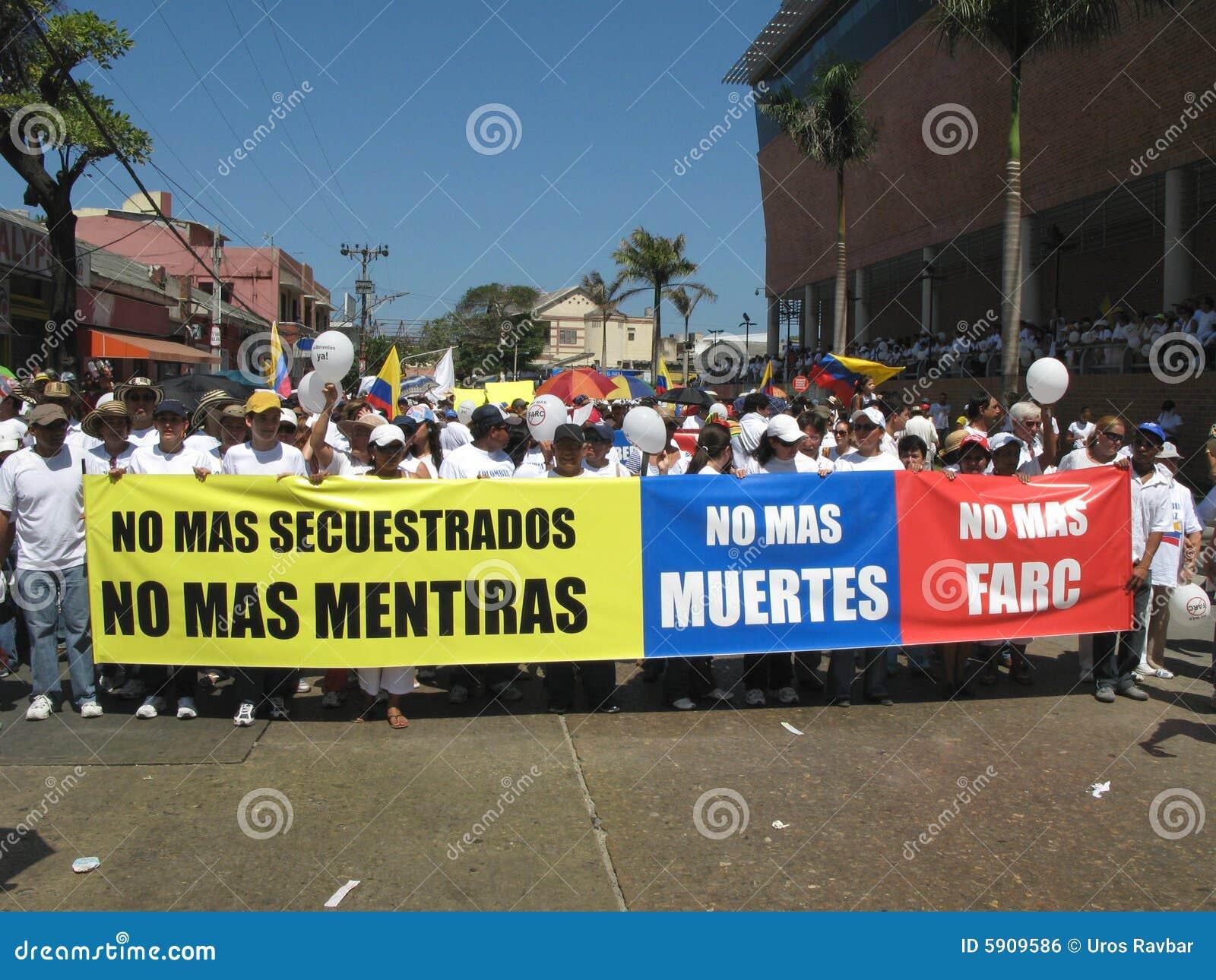 Les protestations de Barranquilla