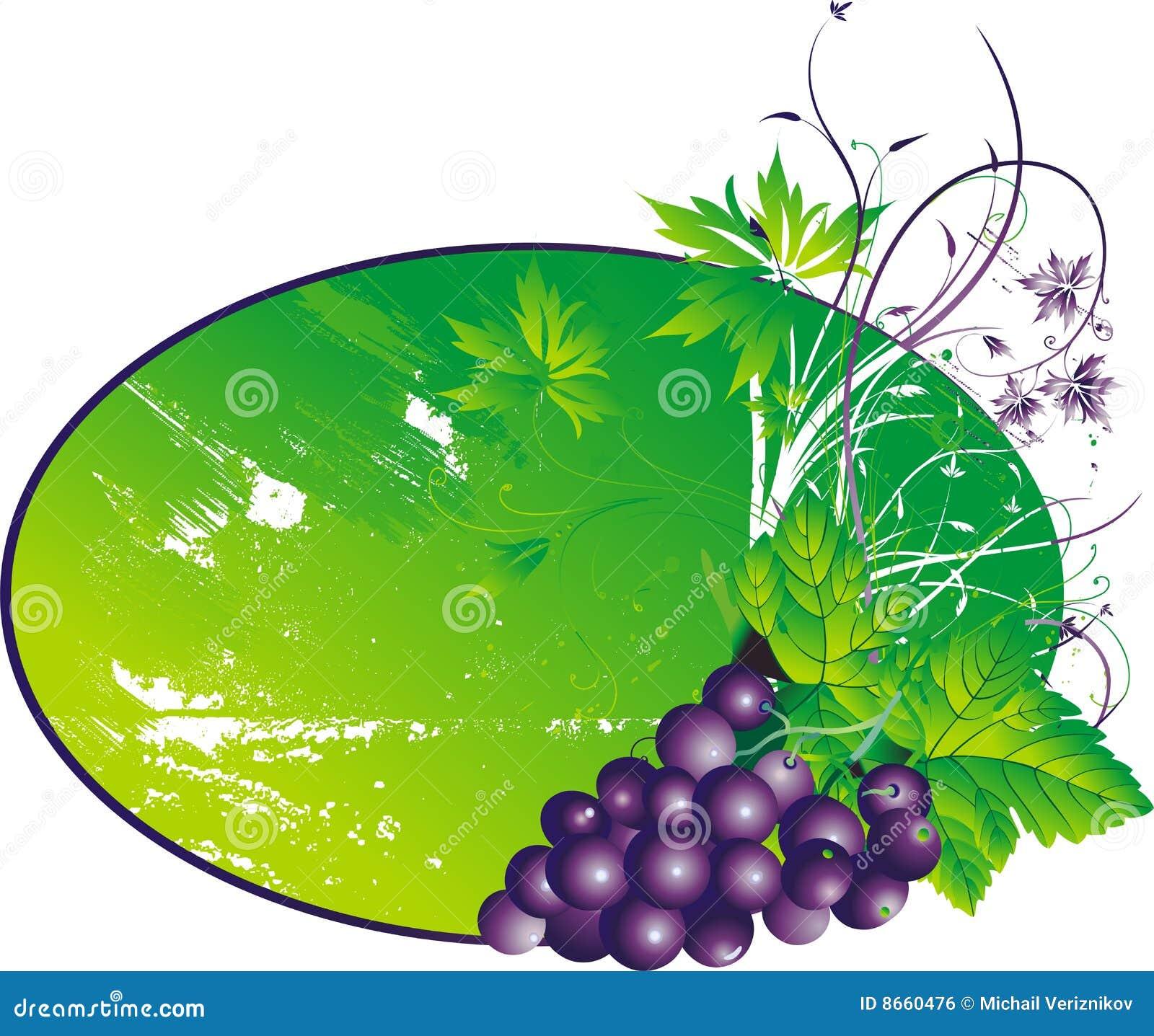 Les raisins stylisés