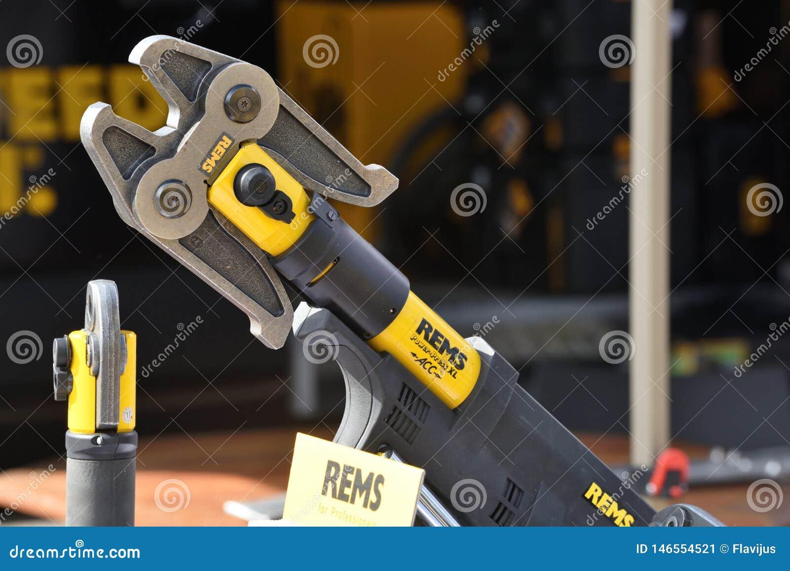 Les rems des machines-outils