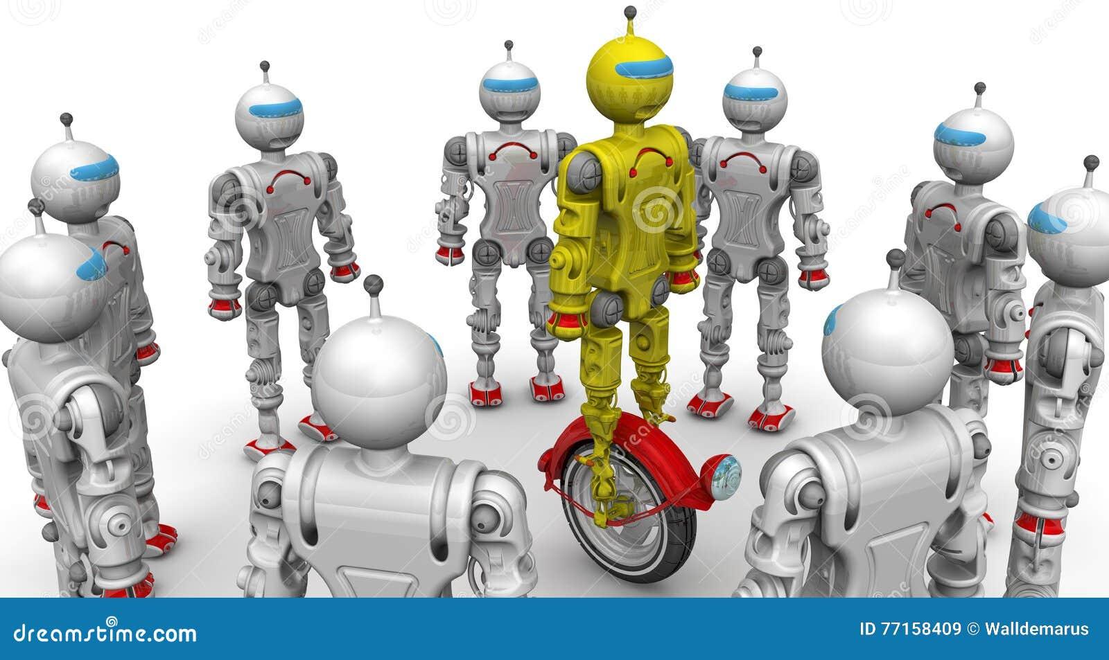 Les robots considèrent une nouvelle modification