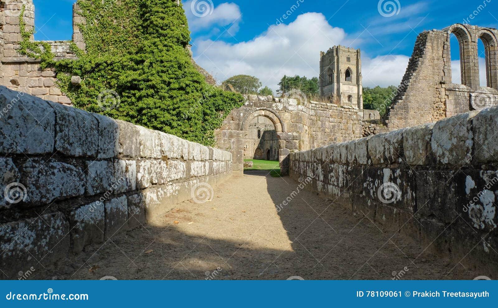 Les ruines de l abbaye de fontaines
