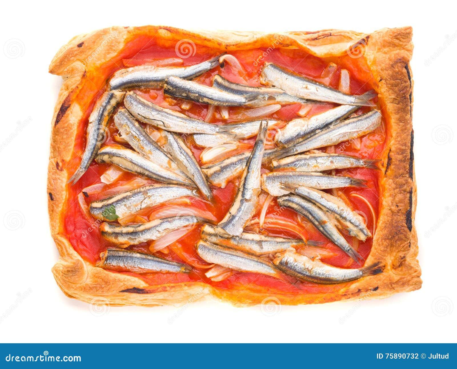 Les Sardines Aeriennes De Pousse Avec La Tomate Ont Fait Cuire Au