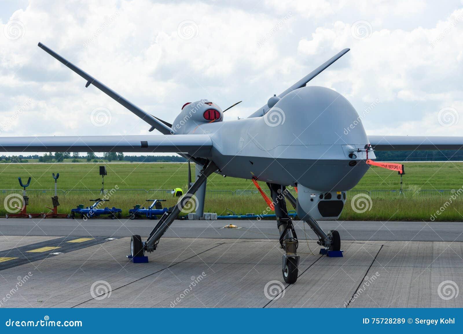 Les sciences atomiques générales téléguidées MQ-9 Reaper de véhicule aérien de combat
