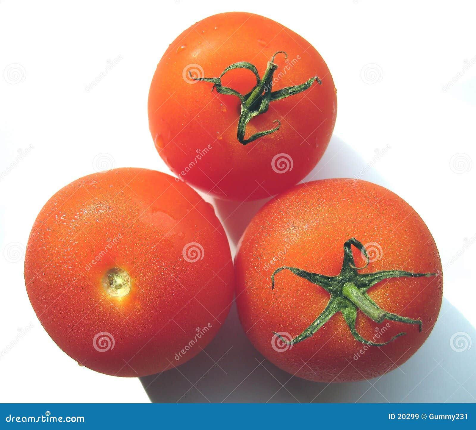 Les trois tomates