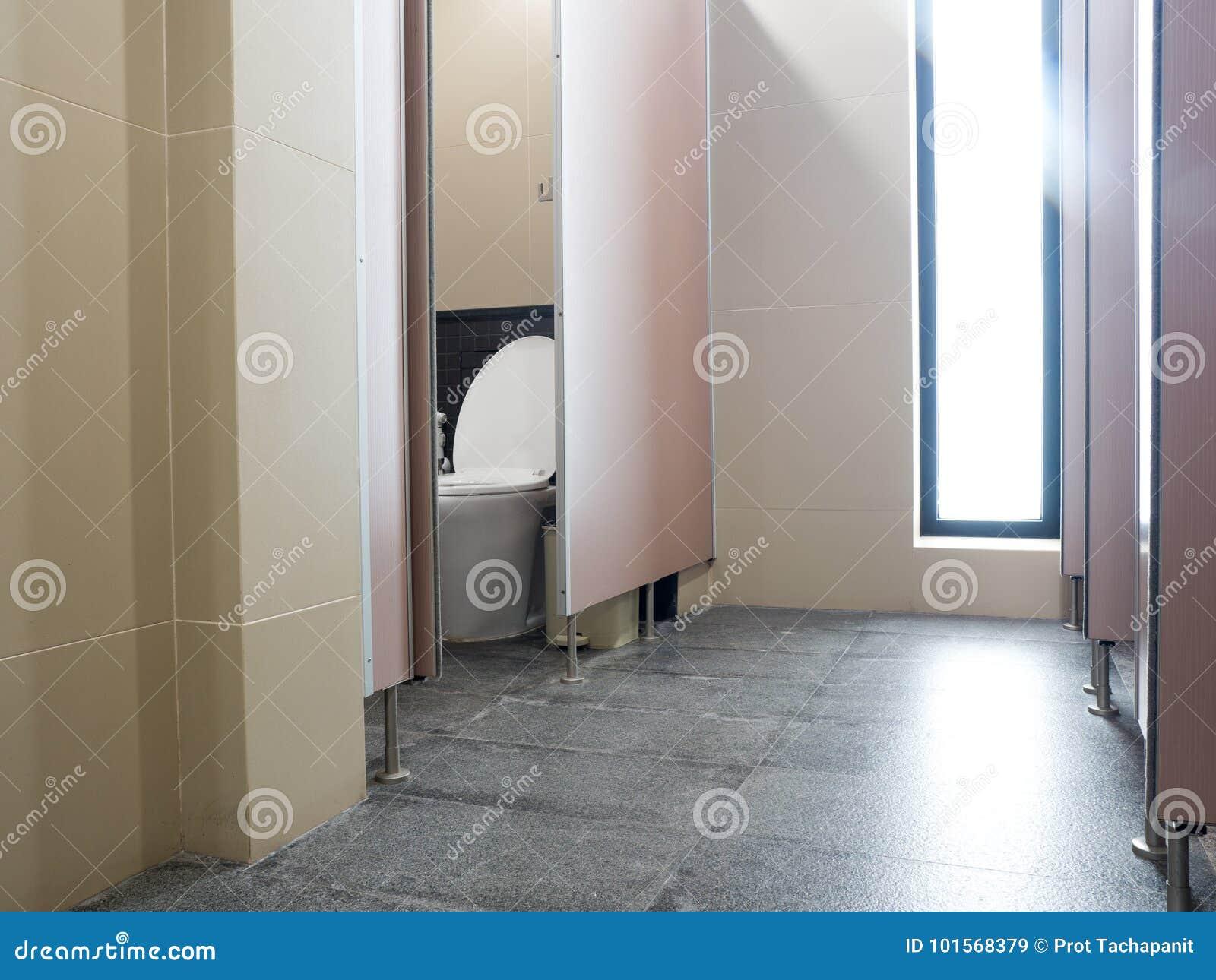 Les tuiles murent dans la toilette de la petite pièce de toilette